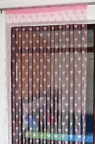 Home Expert 183 cm (6 ft) Tissue Window Curtain Single Curtain
