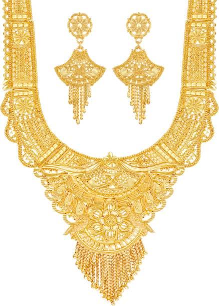 cfca52d83c 1 Gram Gold Necklace Sets - Buy 1 Gram Gold Necklace Sets online at ...