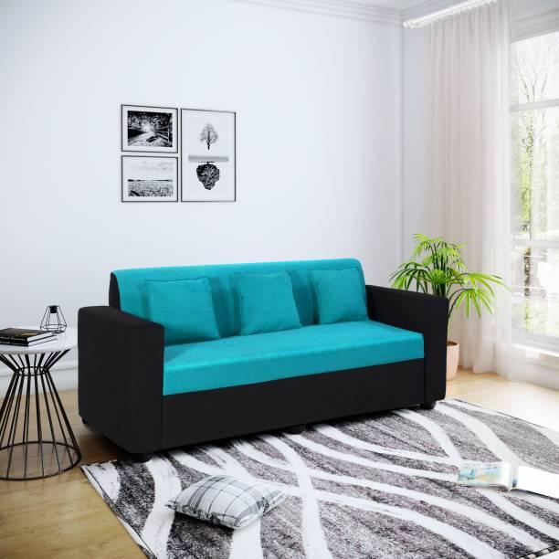 Bharat Lifestyle Desy Fabric 3 Seater  Sofa