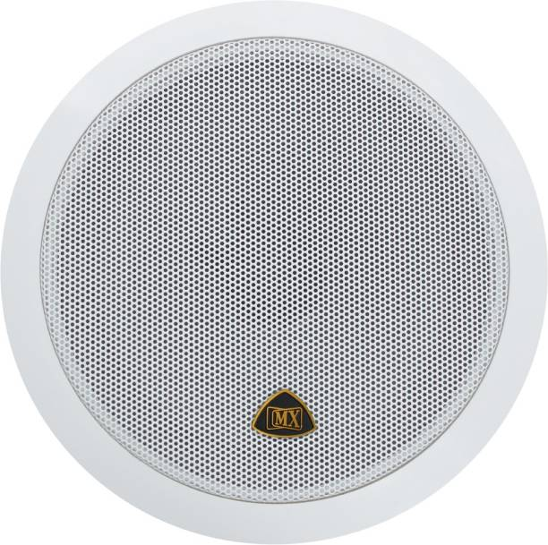MX 6.5 Inch Weather Proof 2-Way In-Ceiling / In-Wall Stereo Ceiling Speakers Home Audio Speaker 3726 Indoor PA System