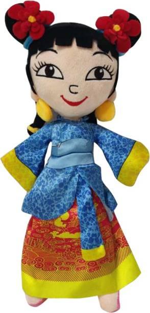 CHHOTA BHEEM Kung Fu Dhamaka Kia Plush Toy  - 30 cm