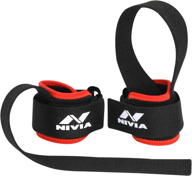 NIVIA Weight Lifting Bar Strap (Pack of 2) Wrist Support