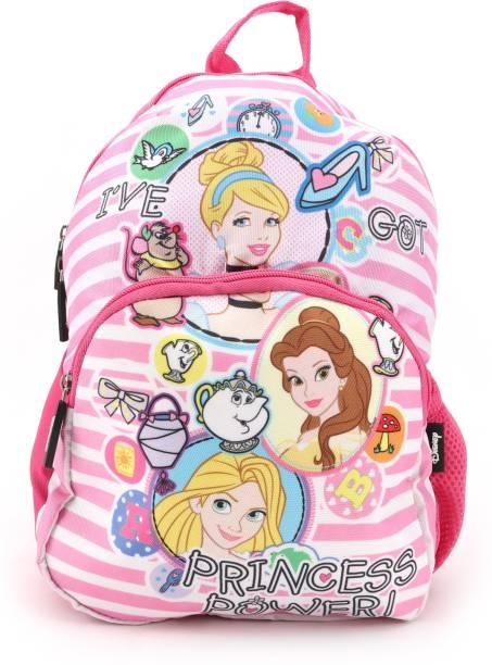 DISNEY GENUINE LICENSED PRINCESS SCHOOL BAG 12 INCH - HMHMSB 88048-PR Waterproof School Bag