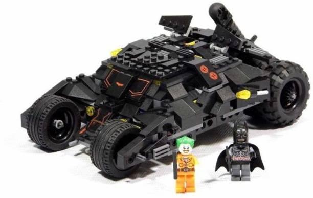RVM Toys Super Heroes Tumbler Batman Batmobile Lego Compatible Building Blocks 325 Pcs
