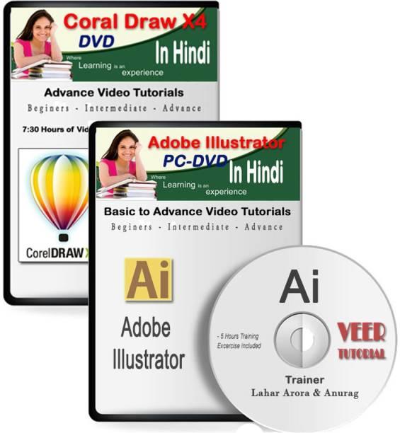 veertutorial Learn CorelDraw X4 + Illustrator Video Training DVD