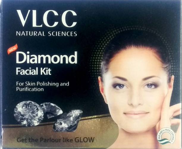 VLCC New Diamond Facial Kit for Skin Polishing and Purification