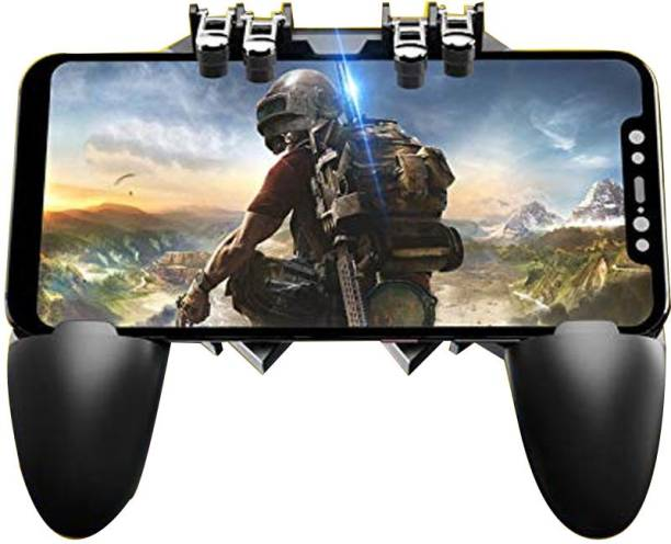 LIFEMUSIC AK66 Six Finger All-in-One Mobile Game Controller Fire Key Button for PUBG  Gamepad
