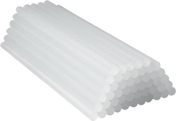 W Wadro 11mm( 40,60,80,100 Watt Glue Guns ) Transparent Sticks - Pack of 20 Adhesive