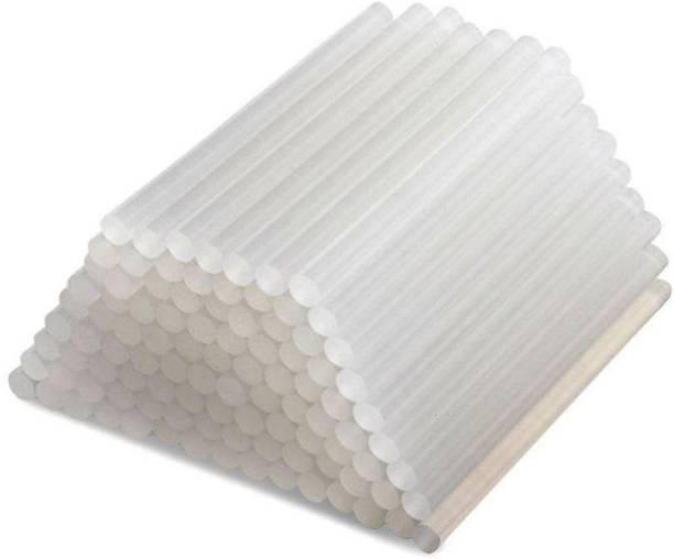 W Wadro 11mm( 40,60,80,100 Watt Glue Guns ) Transparent Sticks - Pack of 25 Adhesive
