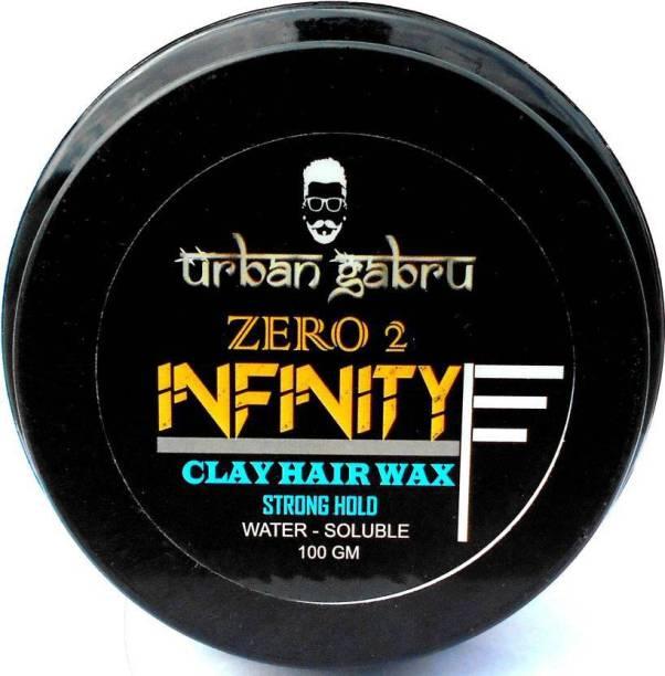urbangabru Zero 2 Infinity - Stong Hold (100gm) Wax Hair Wax