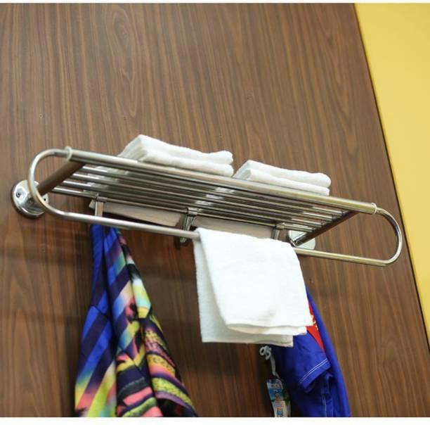 manvi MTR22 Glossy Silver Towel Holder