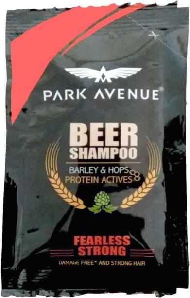PARK AVENUE Beer Shampoo Fearless Strong sachet(pouch) 6 ml x 128 (pack of 128)