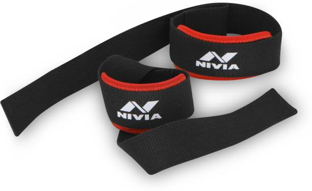 NIVIA Weight Lifting Strap (Pack of 2) Wrist Support