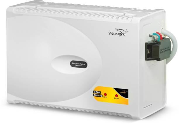 V-Guard V 500 Supreme for 2 Ton A.C (170V To 275V) Voltage Stabilizer