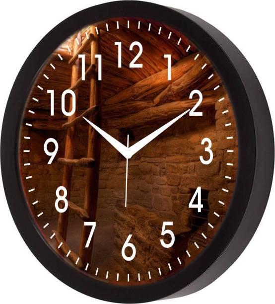 SHIV COLLECTION Analog 30 cm X 30 cm Wall Clock