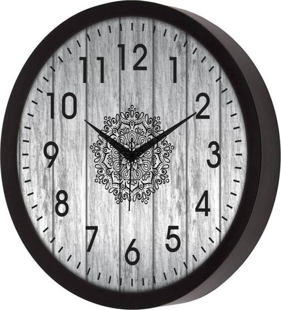 newshivcollection Analog 30 cm X 30 cm Wall Clock