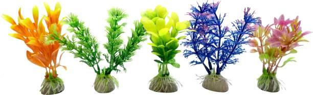 AQUA Aquarium/ Fish Tank Fresh&Sea Water Decorative Artificial Plant Gravel Unplanted Substrate