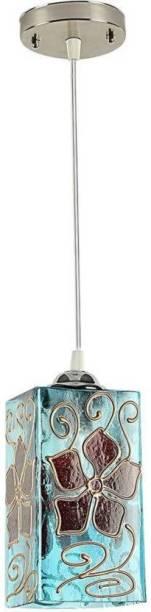 ONECYA square decorative ceeling lamp redium red color fool po1 Pendants Ceiling Lamp