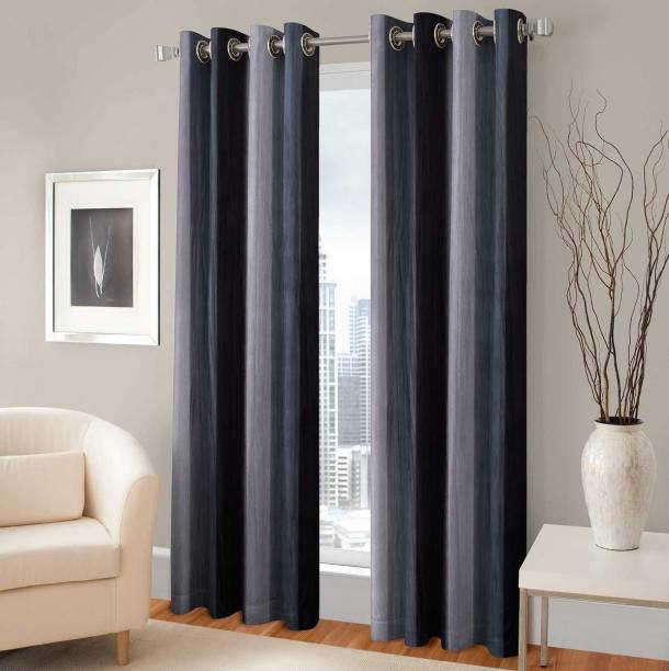 Brother Industries 154 cm (5 ft) Polyester Window Curtain (Pack Of 2)