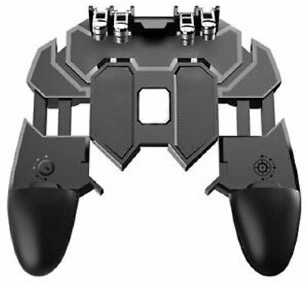 BUY SURETY Six Finger All-in-One Mobile Game Controller Free Fire Key Button Joystick Gamepad L1 R1 Trigger for PUBG/Rules of Survival/Knives Out Sensitive Shoot for All Smartphone  Gamepad