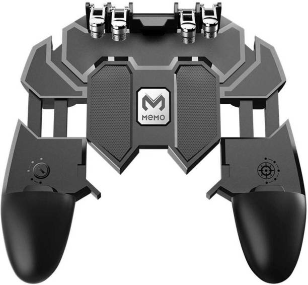 LIFEMUSIC NEW arrivel AK66 Six Finger All-in-One Mobile Game Controller Fire Key Button for PUBG  Gamepad