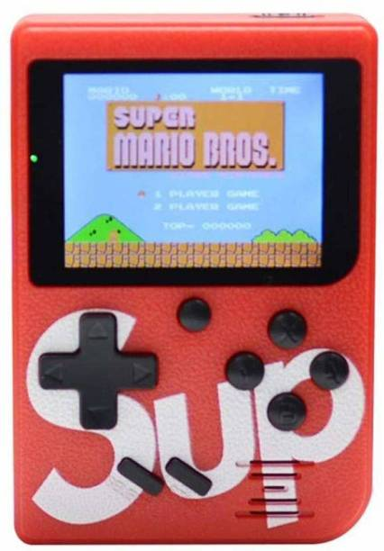 blue seed Best SUP 400 in 1 Retro Game Box Console Handheld Video Game a2 with ideal for Children,adults/8 GB 8 GB with Mario/Super Mario/DR Mario/Contra/Turtles and other 400 Games