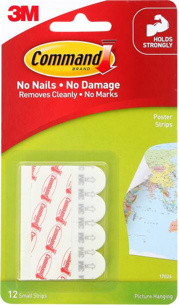 Command Command™ Poster Strips , 4 strips Hook