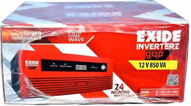 EXIDE 12 V 850 VA inverter 12 V 850 VA Pure Sine Wave Inverter