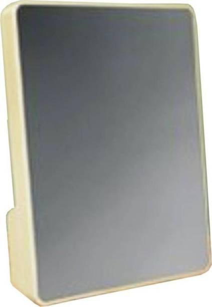 Toyvala Mirror Frame 6 inch Magic Frame, White, LED Light