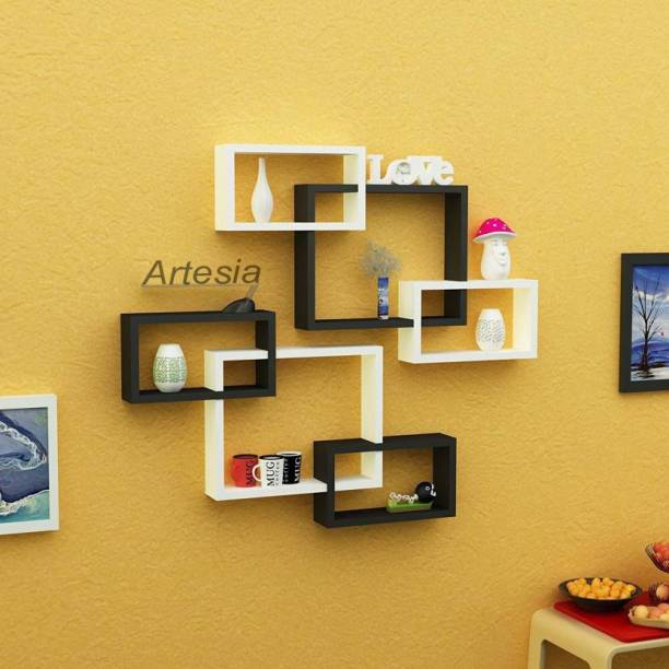 Artesia SCFP-857 MDF (Medium Density Fiber) Wall Shelf