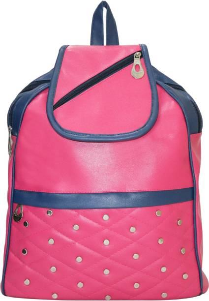 10eb5f4657 Element Cart PU Leather Backpack School Bag Student Backpack Women Travel  bag 15 L Backpack