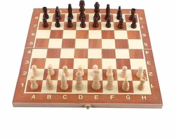 Leosportz Classic folding with lock check & Mate Durable chess board 30.48 cm Chess Board