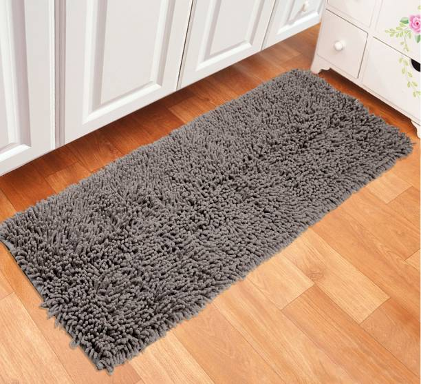 Saral Home Grey Cotton Runner