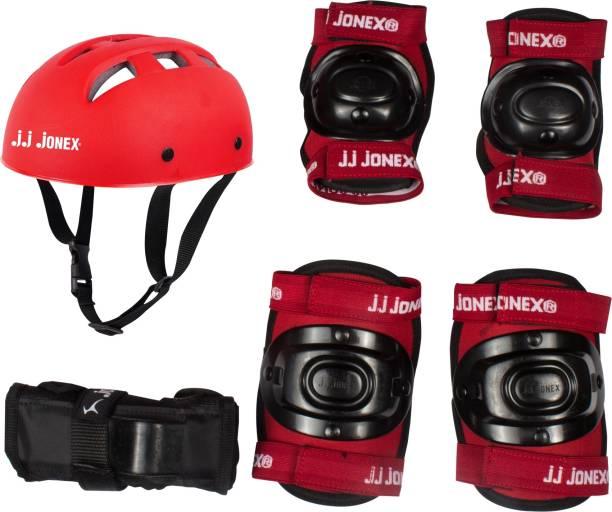 JJ Jonex Injury Resistance Protective Set (Size Small) Skating Guard Combo