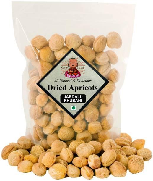 Spicy Monk Premium Quality Dried Apricot, (Khurbani Jardalu Khumani) (500 gms) Apricots