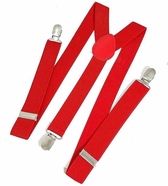 BISMAADH Y- Back Suspenders for Men, Women, Boys