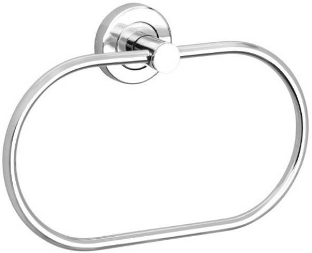 FORTUNE Stainless Steel Towel Ring/Napkin Ring/Modern Bath Towel Stand / Towel Holder / Towel Hanger Silver Towel Holder