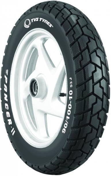 TVS TYRES 3SCO50911PA211 90/100-10 PANCER II Front & Rear Tyre