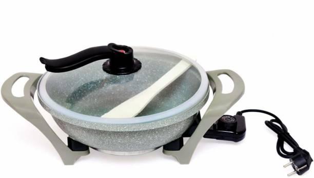Feeling mall Multi-Function Heat Pan Round Electric Pan