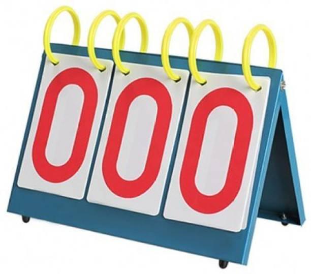 IRIS Portable Table Top 3-Digit Scoreboard Referee Gear for Any Sports Football Scorebook