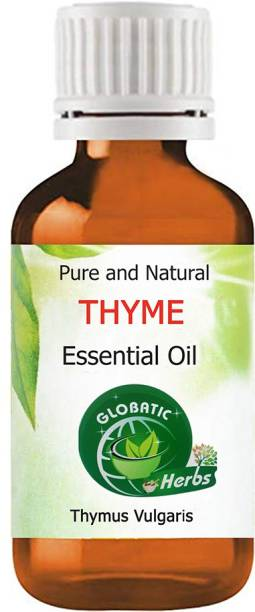 GLOBATIC Herbs THYME Essential Oil 10ml(Thymus Vulgaris )100% Natural and Pure