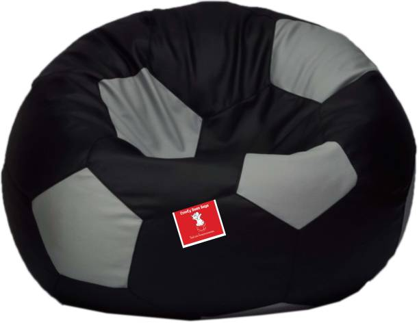 Super Leather Bean Bags Buy Leather Bean Bags Online At Best Pabps2019 Chair Design Images Pabps2019Com