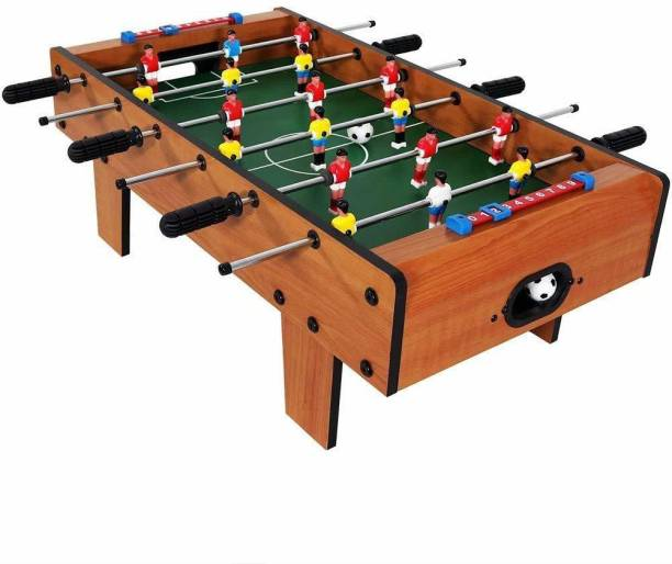 Skylofts Big-Sized Football Table Soccer Game with 6 Rods Toys for 4 Years Old Boys & Girls & Adult Toys( 69cm) Foosball Board Game