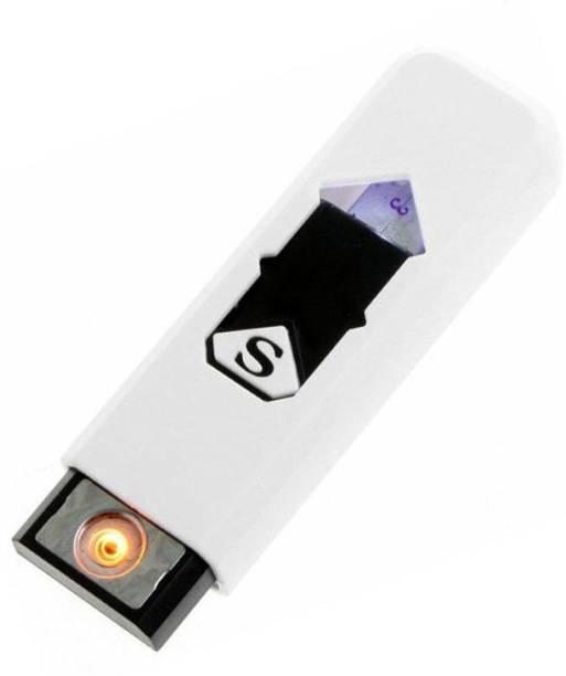 Techobucks Flameless Lighter Electronic Portable Rechargeable Pocket Size USB Lighter 05 Cigarette Lighter