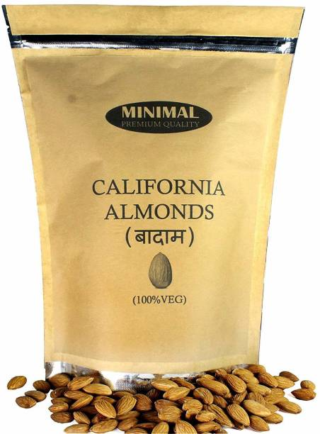Minimal California Almonds,1 Kg Almonds