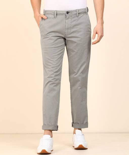 GAP Slim Fit Men Grey Trousers