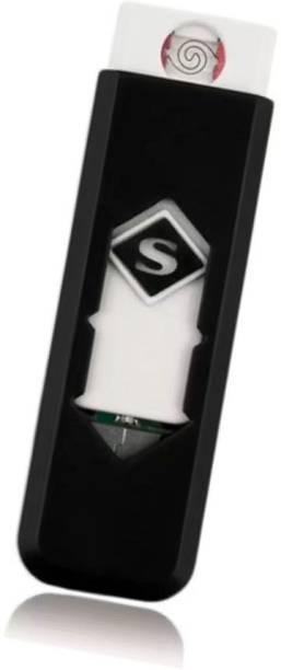 Techobucks Stylish Encendedor Electronic Windproof flameless Lighter USB Lighter Xt17 Cigarette Lighter