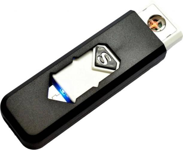BAGATELLE Stylish Electronic flameless Windproof Lighter Rechargeable USB Lighter Xt14 Cigarette Lighter