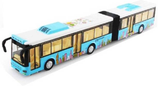 Nightstar Children Double Decker Metal Bus with Light and Music(Above 3 yrs)