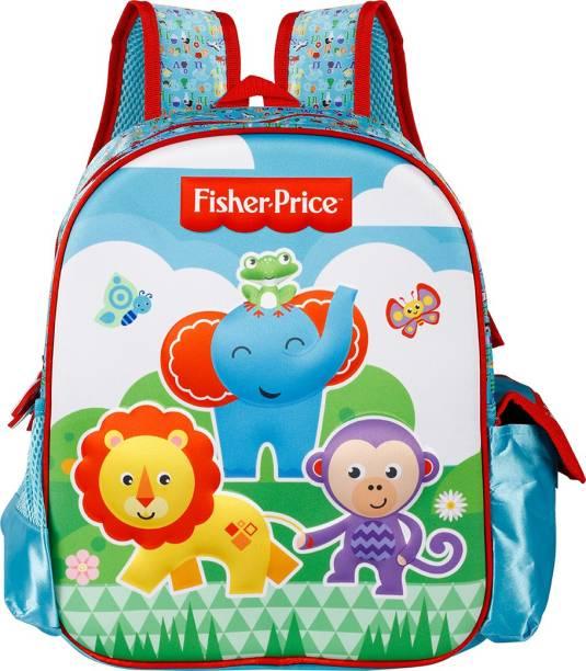 FISHER-PRICE Pre-School EVA 3D 36cm Nursery (LKG/UKG/1st std) School Bag